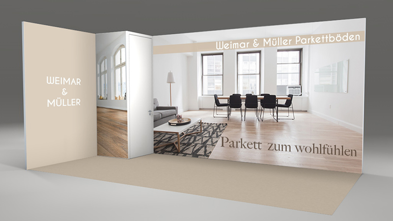 E-World Energy&Water 2019 - exhibition booths by Chritto - Fair Cologne - Corner Booth