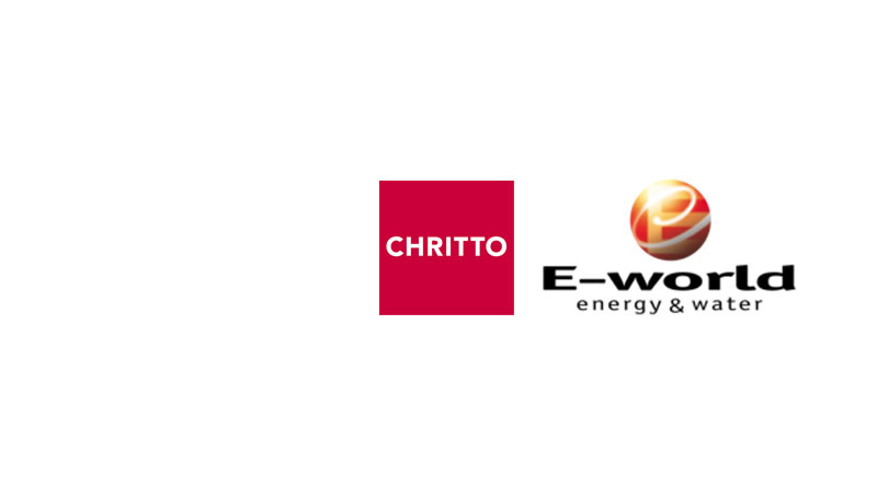 Messe E-World Energy&Water 2019  in Essen - Messeplanung, Messestand und Messebau mit Chritto