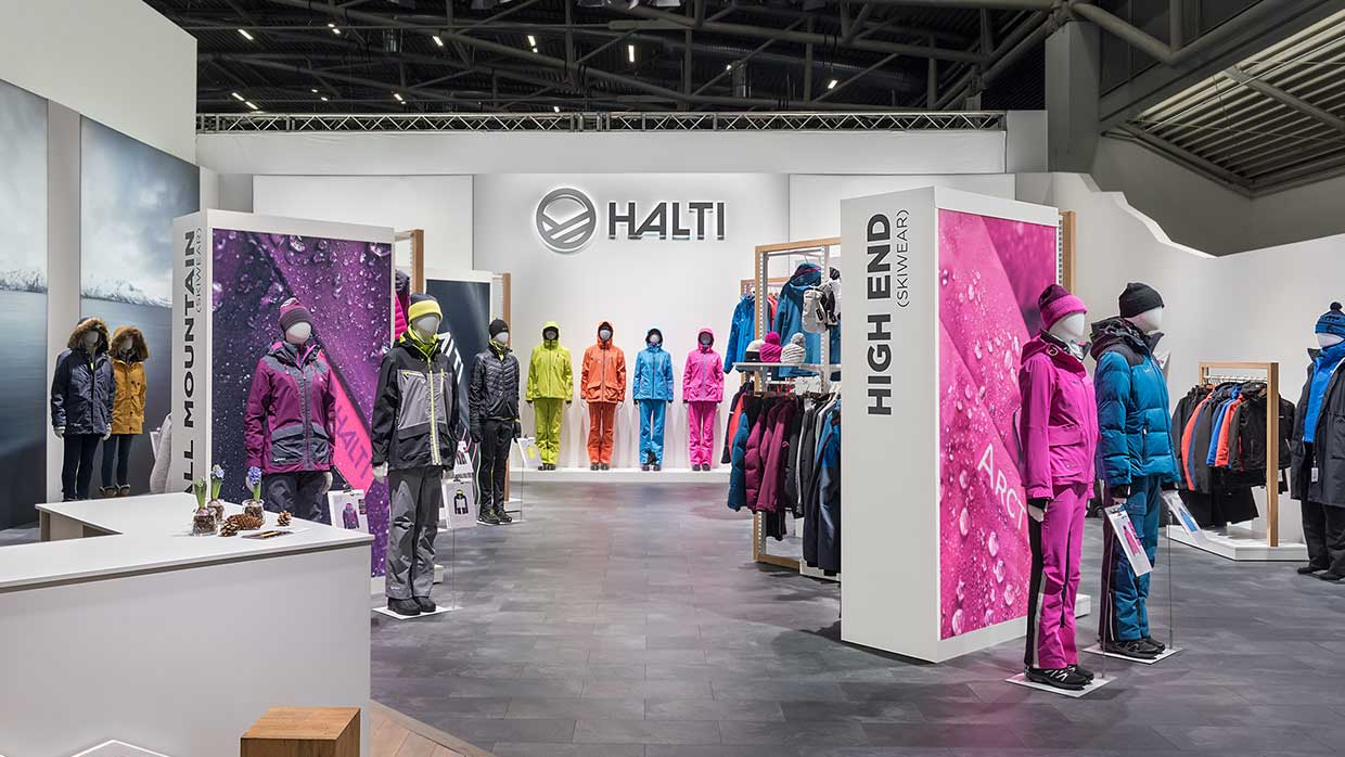 Messestand Halti ISPO 4 2