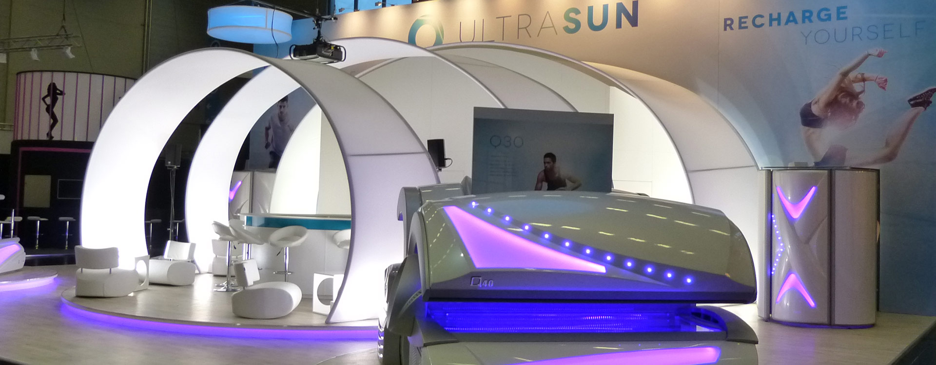 Ultrasun, FIBO 2014, Cologne